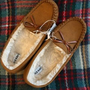 Old Navy Moccasin Slippers